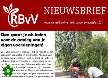 RBvV Nieuwsbrief
